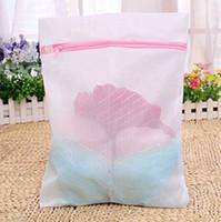 basket jacket - Clothes Washing Bag Laundry Bra Sheet Down Jackets Aid Lingerie Mesh Net Wash Bag Pouch Basket For Washing Machine Sizes