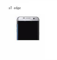 Bon Marché Écrans de téléphone gratuits-1: 1 Goophone S7 bord courbé écran Quad core MTK6580 réel 1gb / 8gb montrent faux 1gb / 32gb déverrouillé mentale téléphone Livraison gratuite