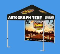 Wholesale Customized promotional pop up tent Dye Sublimation Printing folding canopy Advertising Pop Up Tent Top Printing
