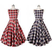audrey hepburn prints - CFL Classy Vintage Audrey Hepburn Style s Rockabilly Swing Evening Dress