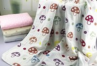 Wholesale 2016 NEW Organic Cotton Baby Layer Muslin Swaddle Blanket Breathable and absorbent Kids Quilts quot Square Blanket for baby