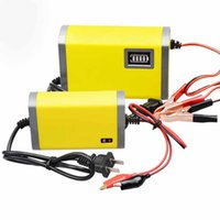 auto smart fix - Car battery charger V A AH Smart Fix auto battery charger intelligent pulse correction function Battery