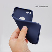 apples silica - New iPhone7 mobile phone shell Apple frosted silica gel mobile phone sets iPhone7 plus mobile phone protective cover