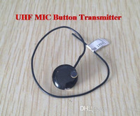 Wholesale Uhf MHZ Fm Transmitter Mini wireless microphone module Walkie talkie as a receiver NEW