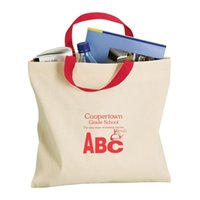 Wholesale High Quality Eco Friendly Canvas Carrier Bags With Custom Printing Daily Supplies Durable Canvas Shopping Tote Applied To Outdoor Travel