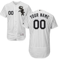 Baseball Men Short Chicago White Sox Personalized Customized Mens Jersey White Custom Any Name Any Number Jersey Flexbase Collection Baseball Jersey 2726