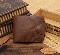antique business card - New wallet antique buckle wallet JINBAOLAI wallet men s wallet