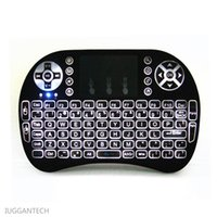 airs usb key - Universal remote control with air mouse backlit touchpad touch stripe keys left right mouse button