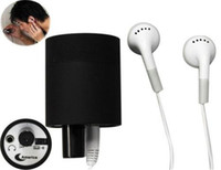 Wholesale Black Spy Ear Amplifier Bug Wall Listening Device Audio Listening Wiretap Device