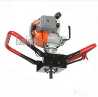 auger hole digger - Single Person Auger Plant Trees Brush Fence Post Hole Digger cc HP Gas Power Recoil Start Ignition system
