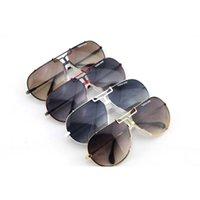 best online eyeglasses - Best Sunglasses for Men Wrap CR Gradient Lens Full Frame with Alloy Material Eyeglasses for Pilots Cheap Online CZ901