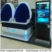arcade simulator - Amusement Equipment Virtual Reality Seats D VR Simulator Egg Cinema Movie Arcade Game Machine