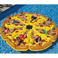 american inflatables - USA American Sports Entertainment Water Articles Swimming Pool PVC Pizzas Inflatable Floats Tubes Swimming Ring CM