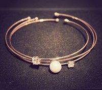 bead weights - Edition Set Zircon Shell Beads Fashion Three Sets Of Bracelets Net weight g