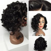 baby silk mix - bob wave wig full lace human hair wigs silk top lace front human hair wigs with baby hair