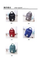 Wholesale high style luminous cat allround canvas backpack