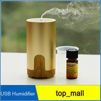 best aromatherapy diffuser - Best selling Nanum Car Plug Air Humidifier Purifier Vehicular essential oil ultrasonic humidifier Aroma mist car fragrance Diffuser