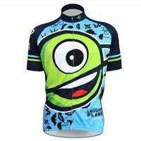 Wholesale Pocket Bike Planet Nalini Bike Cycling Jersey laughing cyclopia synops Mens Men s Short Sleeve Cycling Jerseys Cycling Wear Cheap