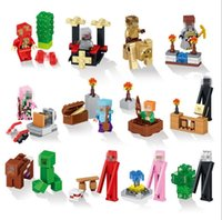 Wholesale In stock LELE My world Cational Building Blocks Sets Model Bricks Toys for Childrenrtoon Minifigures Educa