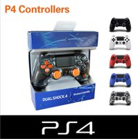 Wholesale Bluetooth ps4 controllers Wireless Video Game PS4 Controller for Dualshock PlayStation PS4 Console colors Assemble the produc Exempt posta