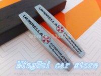 Cheap Umbrella Car Fender side Emblem Badge rear bumper trunk Sticker Car styling Auto accessories 2pcs