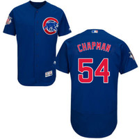aroldis chapman - Chicago Cubs Jersey Mens Aroldis Chapman Blue Flexbase Collection Baseball Jersey Size M XL Fast Shipping Embroidery Logos
