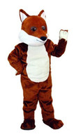 Wholesale Friendly Fox mascot costumes real picture adults christmas Halloween Outfit Fancy Dress Suit