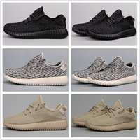 Cheap With Box Adidas Yeezy Boots 350 Men Women Running Shoes Yeezys Boost Cheap Yeezys 350 Jogging Shoes Free Shipping Size 5-11.5