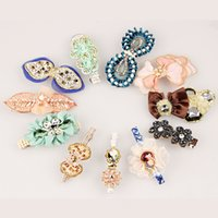 Wholesale Random mix style Gold Fashion Hair Clips Hair Clips Barrettes New top quality HJ009