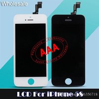 bars screen protectors - Tianma Cell Phones Accessories For iPhone S LCD Display touch screen Digital Panel Repair Parts Glass Protector iphone c LCD Digitizer