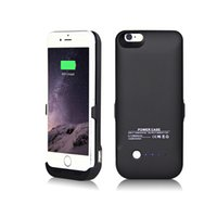 Wholesale 6000mAh Emergency Power External Battery Case Backup battery Power cove case for iphone smart phone