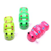 Wholesale The chain of caterpillar Clockwork toys manufacturers selling gifts for children amusement toys