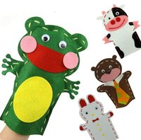art puppets - DIY Animal Hand Puppet Story Telling Kids Children Kindergarten Arts and Easy Crafts Creativity Toys