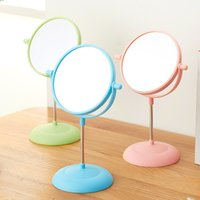 Wholesale 6 Inch x Magnification Circular Makeup Mirror Dual Sided Round Shape Cosmetic Mirror Stand Mirror for Make up