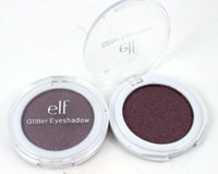 beauty cosmetic products - Makeup ELF Glitter Eyeshadow Single Colors Mineral Smoky Eye Shadow Palette ELF Brand Make Up Cosmetics Beauty Product DHL Free In Stock