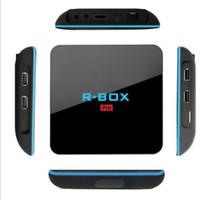 Wholesale R BOX Pro Amlogic S912 TV BOX GB GB Android TV Box Octa Core Dual WIFI AP6330 GHZ GHZ BT4 DLNA Miracast Protocol APK