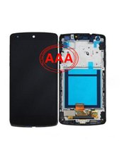 Wholesale High Quality AAA LCD for Google Nexus LG D820 D821 LCD Monitor and Touch Screen Digitizer Black Frame Parts Factory