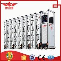 automatic folding gates - China famous brand top Aluminum automatic folding gate for factory L1441