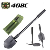 Wholesale Chinese military shovel Outdoor multifunctional camping shovel c portable folding garden home tools spade