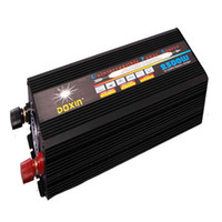 ac frequency converters - 2500W High frequency power supply off grid DC TO AC converter solar inverter modified sine wave inverter with charger