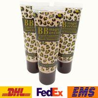 Wholesale Fashion Type Leopard Smooth Moisturizing Liquid Foundation Women Ladies Girls Makeup Shades BB Magic Cream ml WX B01