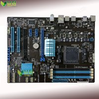 amd sale - Second Hand For Asus M5A97 LE R2 Desktop Motherboard For AMD AM3 DDR3 SATA3 USB3 On Sale