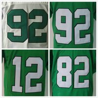 Wholesale Throwback Eagles Mike Quick Randall Cunningham Reggie White Men Football Jerseys Replica M XXXL Mix Orders