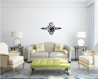 Wholesale Modern Design Luxury Mirror Wall Art Clock Decal D Best Wall Watch Home Decoration DIY Crystal Large Wall Clocks Home Decor