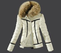 Cheap 1:1 Top Famous Brand Mon White Down Parkas Jackets Slim hoodies warm Down jackets Snowproof outerwear coats