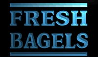 bagel shop - LS1113 b Fresh Bagels Shop Neon Light Sign jpg