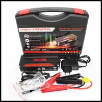 banks engines - 68800mAh Car Jump Starter High capacity Battery Charger Emergency Start V Petrol Diesel Engine Multi Function USB power bank Battery Cha