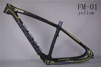 Wholesale MTB selling high quality carbon fiber mountain bike frame er frame cadre carbone inch er and inch
