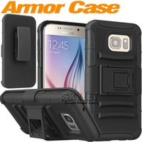 plastic clip - Skylet Armor Case For Iphone Case Note Impact Hybrid Case Iphone S Kickstand Case Degree Rotating Clip Combo Case With OPP Package