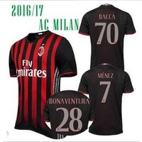 badminton clothes men - 2016 AC Milan ball clothing